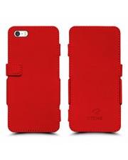 Чехол книжка Stenk Prime для Apple iPhone 5/ 5S Красный