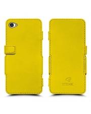 Чехол книжка Stenk Prime для Apple iPhone 4/ 4S Желтый