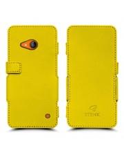 Чехол книжка Stenk Prime для Nokia Lumia 730 Желтый