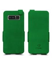 Чехол флип Stenk Prime для Samsung Galaxy Note 8 Зелёный