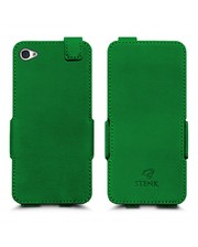 Чехол флип Stenk Prime для Apple iPhone 4/ 4S Зелёный
