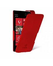 Чехол флип Stenk Prime для Nokia Lumia 928 Красный