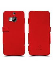 Чехол книжка Stenk Prime для HTC One M9 Plus Красный
