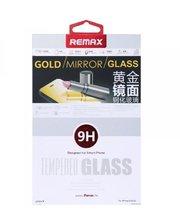 Защитное cтекло Remax Tempered Glass Golden Mirror для Apple iPhone 5S /5 /5C 0.2mm 9H