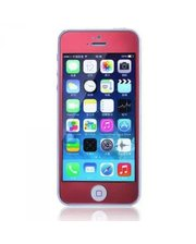 Защитное cтекло Remax Tempered Glass Colorful Red для Apple iPhone 5S /5 /5C 0.2mm 9H