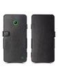 Чехол книжка Stenk Prime для Nokia Lumia 630 Чёрный