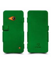 Чехол книжка Stenk Prime для Nokia Lumia 730 Зелёный