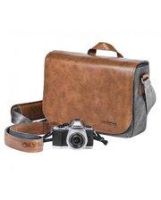 Olympus OM-D Messenger Bag Leather + Strap (E0410225)