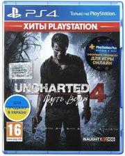 games Игра Uncharted 4: Путь вора (PS4, Русская версия)