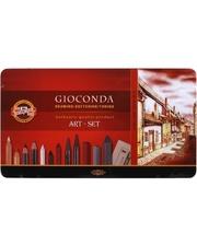 KOH-I-NOOR Набор Kон-I-Nооr художественный Gioconda 8891 39 предметов, металлическая упаковка (8891)