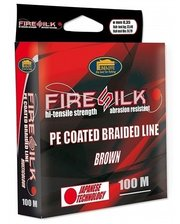 Lineaeffe Fire Silk PE Coated 100м 0,08мм FishTest-8,05кг Made in Japan (3008108)