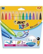 BIC Kid Coleour XL 12 цветов 12 шт