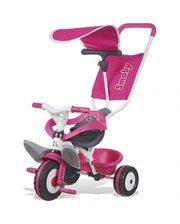 Smoby с козырьком и багажником, розовый (444207)
