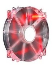 Cooler Master MegaFlow 200, Red LED Silent Fan, 200мм, 3pin+Molex (R4-LUS-07AR-GP)