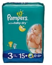 PAMPERS Active Baby-Dry...