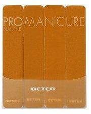 Beter VIVA B скловолокно 180 ProManicure Nail File в блистере 8 см, 4шт
