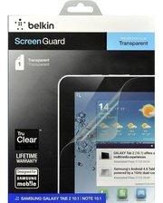 Belkin для Galaxy Tab2 10.1 Screen Overlay CLEAR