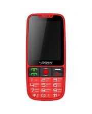 Sigma МобильныйтелефонSigmaComfort50EleganceRed