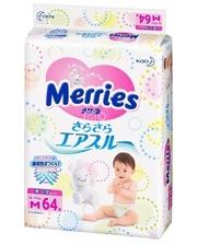 Merries M 6-11кг 64шт (563795/382184)