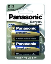 Panasonic Everyday Power D BLI 2 Alkaline (LR20REE/2BR)
