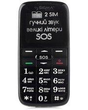 Sigma МобильныйтелефонSigmaComfort50SlimRed-Black