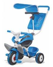 Smoby с козырьком и багажником синий (444208)