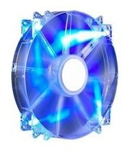 Cooler Master MegaFlow 200, Blue LED Silent Fan, 200мм, 3pin+Molex (R4-LUS-07AB-GP)