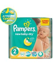 PAMPERS New Baby-Dry Mini (3-6 кг) 94 шт. (4015400264613)