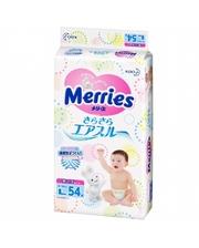 Merries L 9-14кг 54шт (563798/382188)