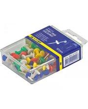 BUROMAX цветные 50 шт пластиковый контейнер (BM.5150)