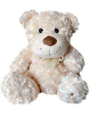 Grand Медведь (белый, с бантом, 33 см)(3301GMC)