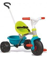 Smoby с козырьком и багажником зелено-голубой (740314)
