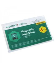 Kaspersky Lab Anti-Virus 2017 1 устройство 1 Год + 3 месяца. Карточка продления