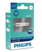 Philips Лампа светодиодная Festoon 38мм, 6000К, 12В (128016000KX1)