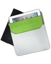 SB для планшета iPad New кожа Blackая фактурная