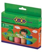 ZIBI цветной 6 шт JUMBO, картонная коробка (ZB.6710-99)