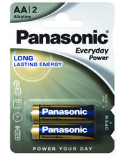 Panasonic EVERYDAY POWER AA BLI 2 Alkaline (LR6REE/2BR)