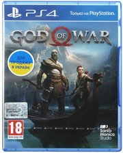 games Игра God of War (PS4, Русская версия)