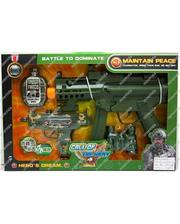 Metr+ Набор военного с пистолетом и флягой