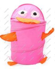 Metr+ Корзина для игрушек «Розовый пингвин»