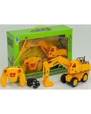 Bk toys ltd. Экскаватор на колесном ходу