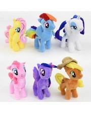 Metr+ Мягкая игрушка 6 видов «Пони»
