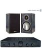 Cambridge Audio Topaz AM5 Black+Monitor Audio Bronze1 Black