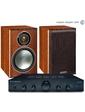 Cambridge Audio Topaz AM5 Black+Monitor Audio Bronze1 Rosemah