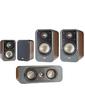 Polk Audio S30 + S20 + S10 Wallnut