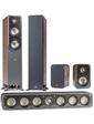 Polk Audio S35 + S50 + S10 Wallnut