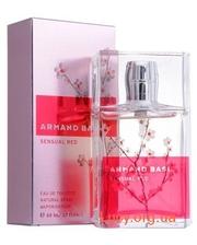 Armand Basi Sensual Red — туалетная вода 100 мл, тестер