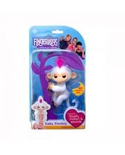 Интерактивная игрушка WowWee Ручная обезьянка: белая (W3700/37023)
