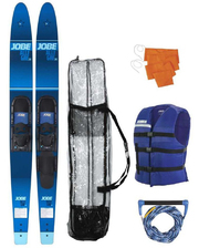 "Allegre 67"" Combo Skis Blue Pack"