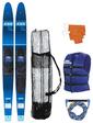 """Allegre 67"""" Combo Skis Blue Pack"""